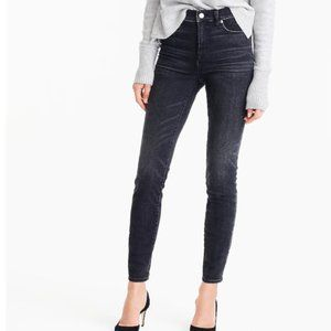"""9"""" high-rise toothpick jean in Charcoal wash"""